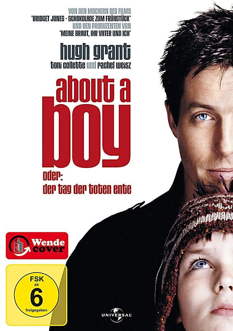 """Plakat von """"About a Boy oder: Der Tag der toten Ente"""""""