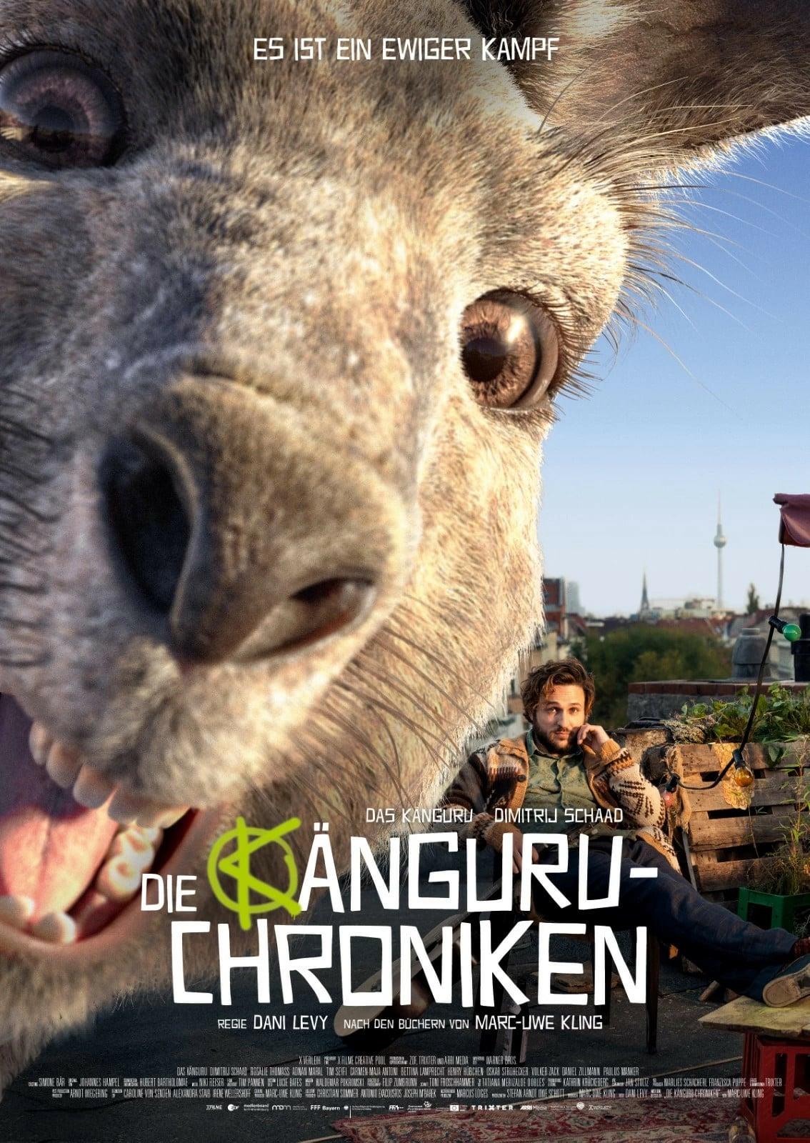 """Plakat von """"Die Känguru-Chroniken"""""""