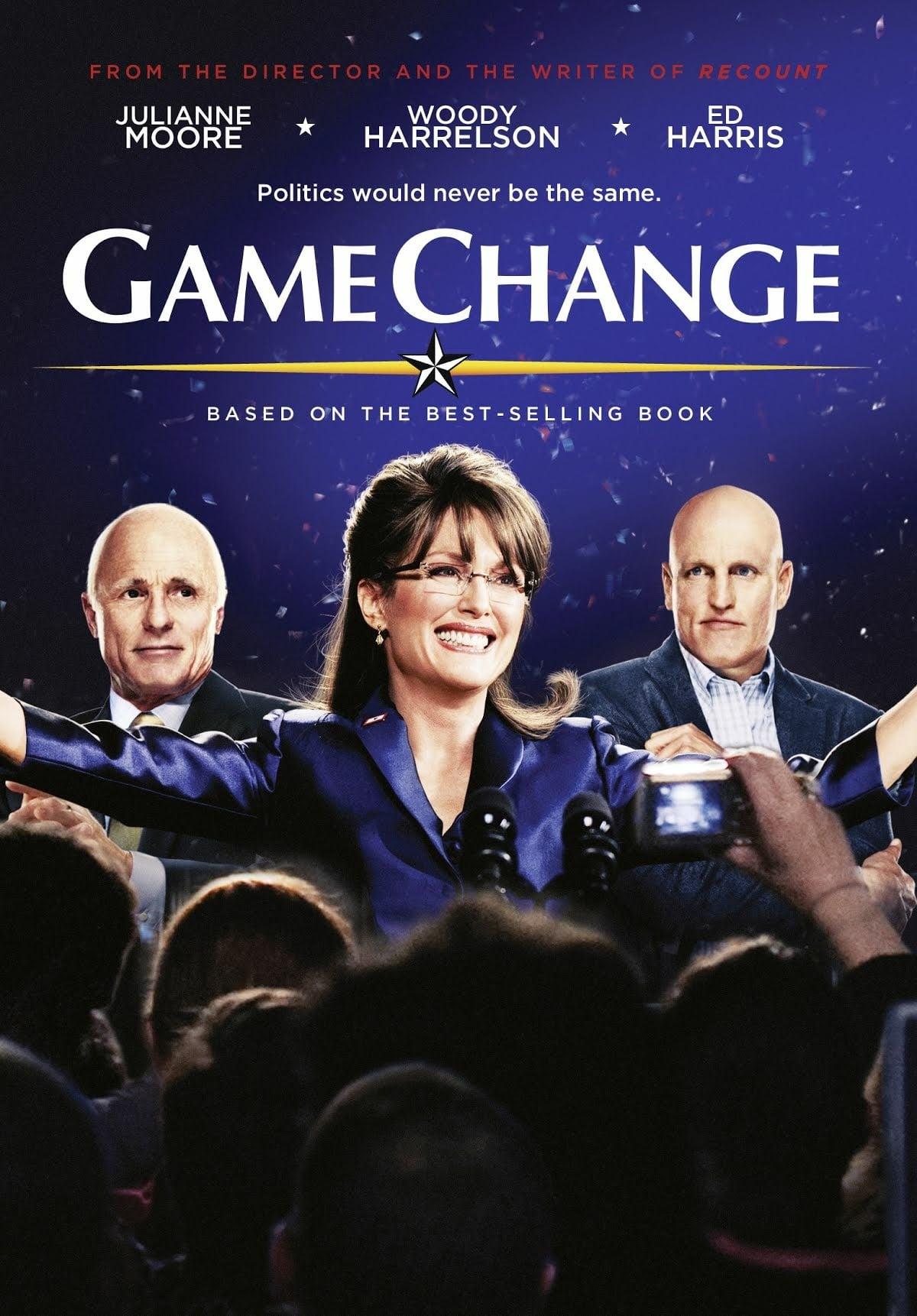 """Plakat von """"Game Change - Der Sarah-Palin-Effekt"""""""