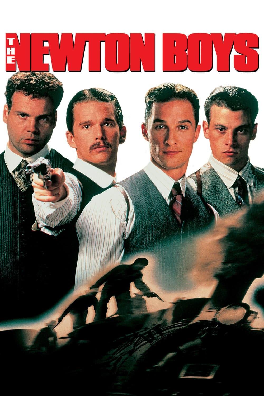 """Plakat von """"Die Newton Boys"""""""