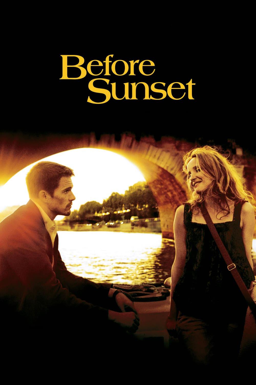 """Plakat von """"Before Sunset"""""""