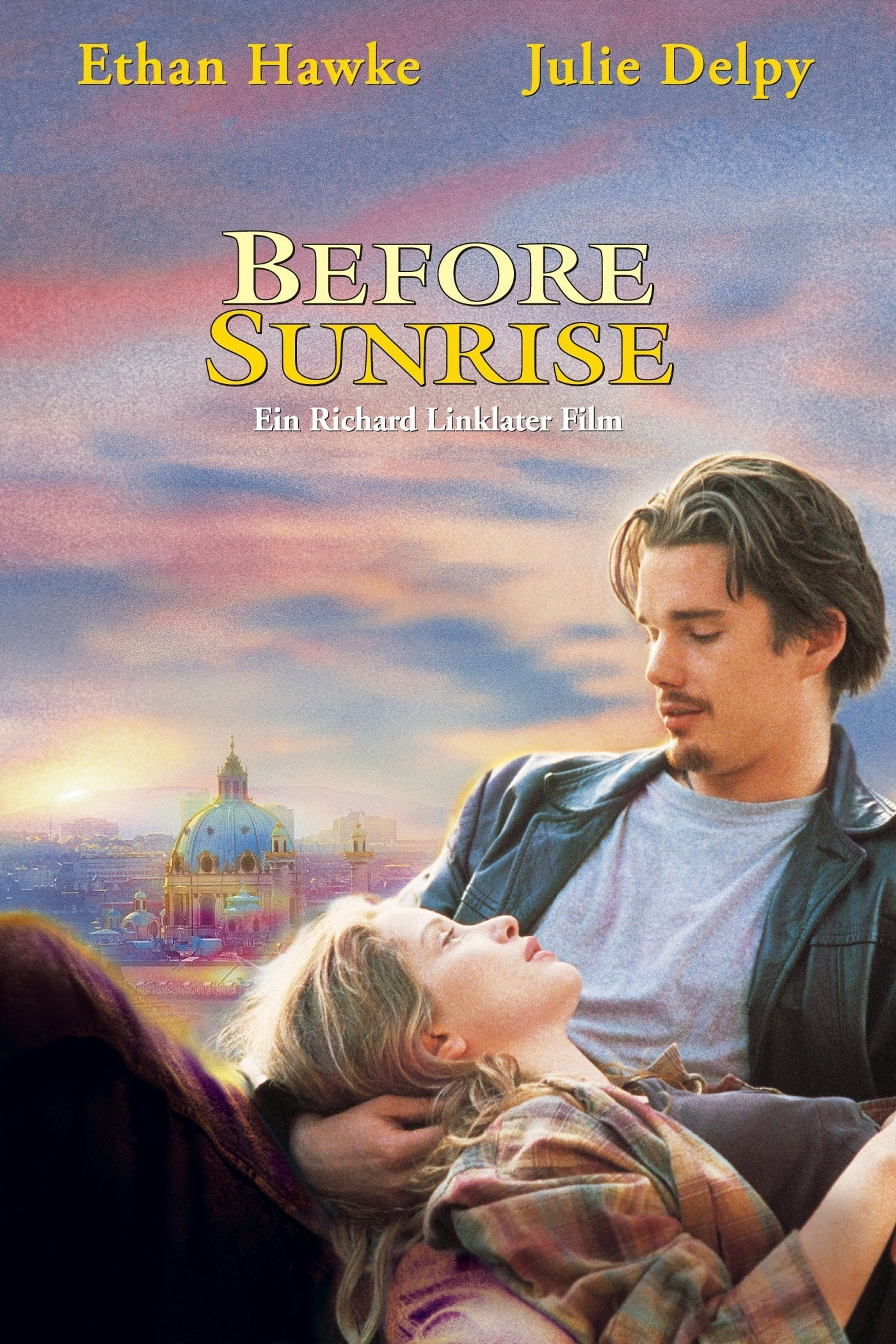 "Plakat von ""Before Sunrise"""