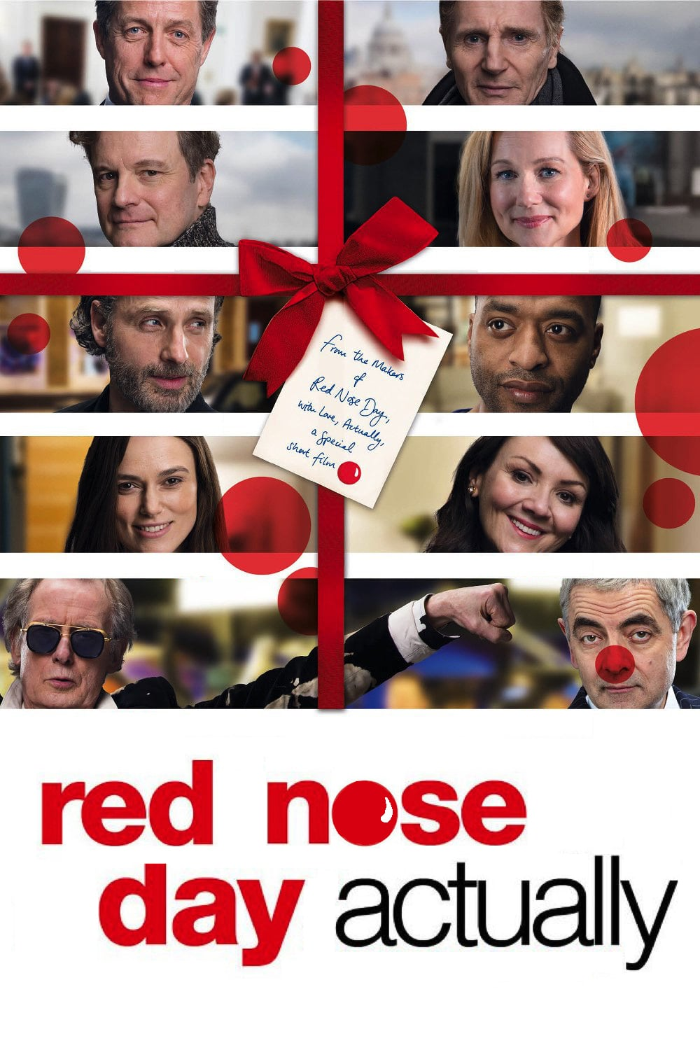 """Plakat von """"Red Nose Day Actually"""""""