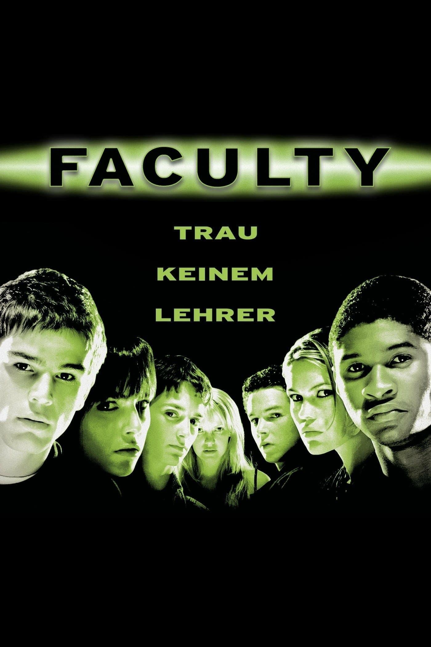 """Plakat von """"Faculty - Trau keinem Lehrer!"""""""