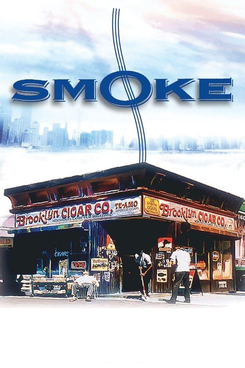 """Plakat von """"Smoke - Raucher unter sich"""""""