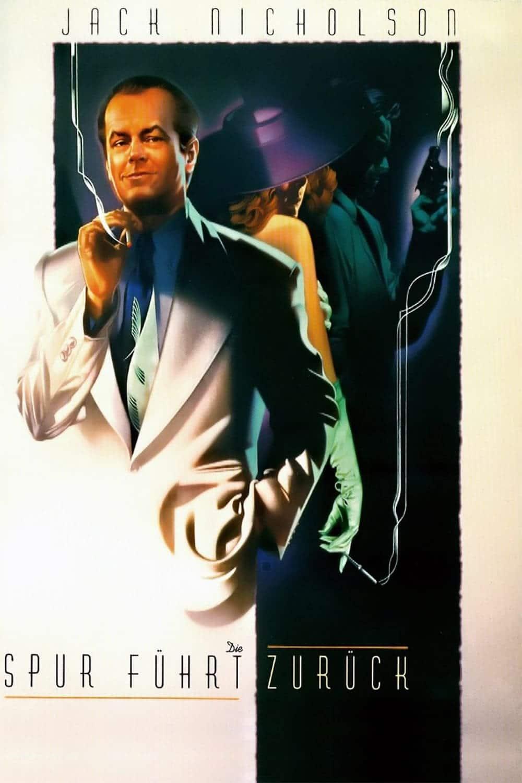 """Plakat von """"Die Spur führt zurück - The Two Jakes"""""""
