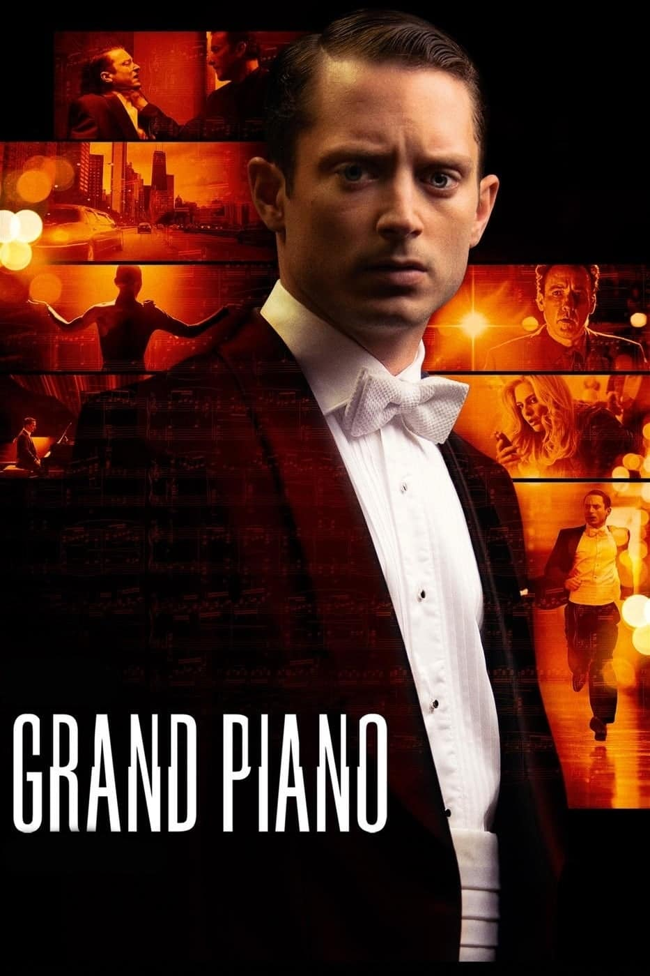 """Plakat von """"Grand Piano - Symphonie der Angst"""""""