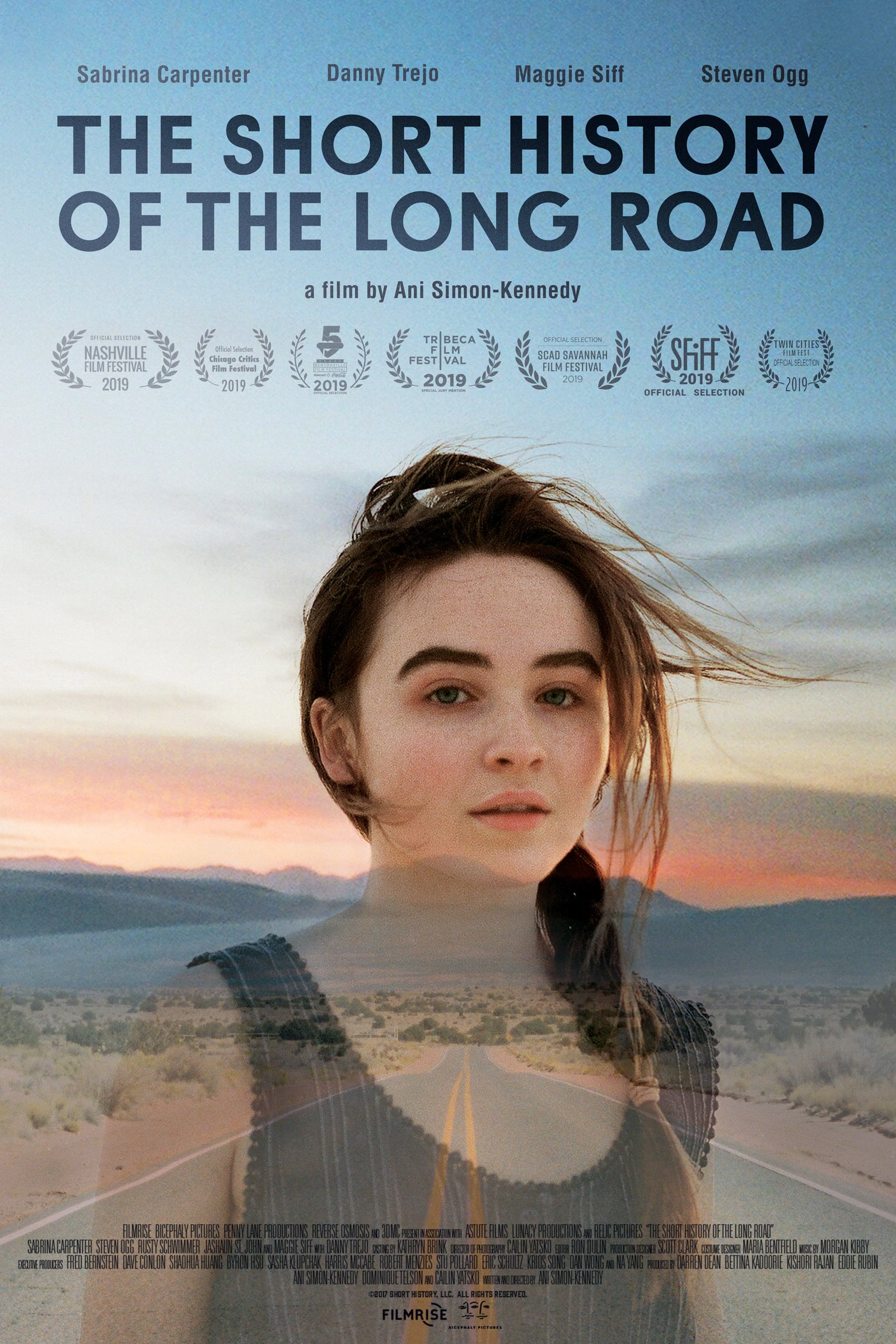 "Plakat von ""The Short History of the Long Road"""