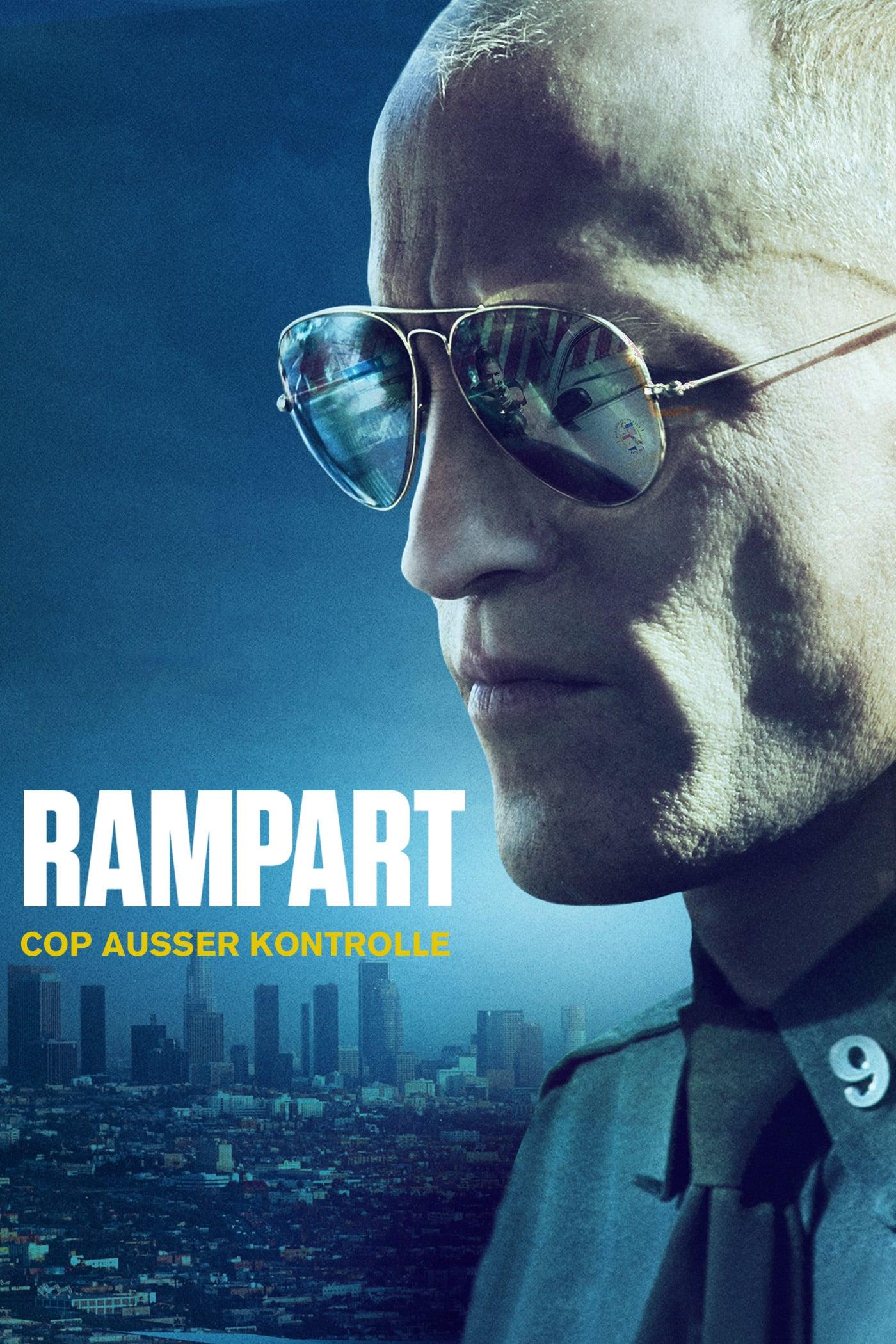 """Plakat von """"Rampart - Cop außer Kontrolle"""""""