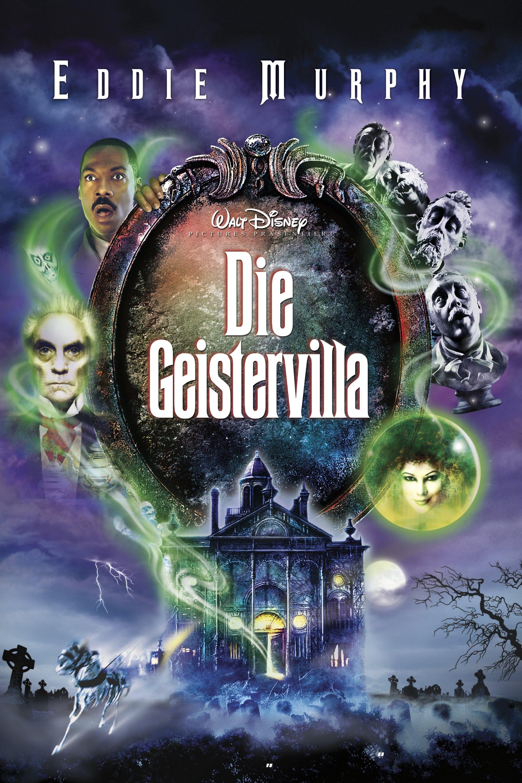 """Plakat von """"Die Geistervilla"""""""