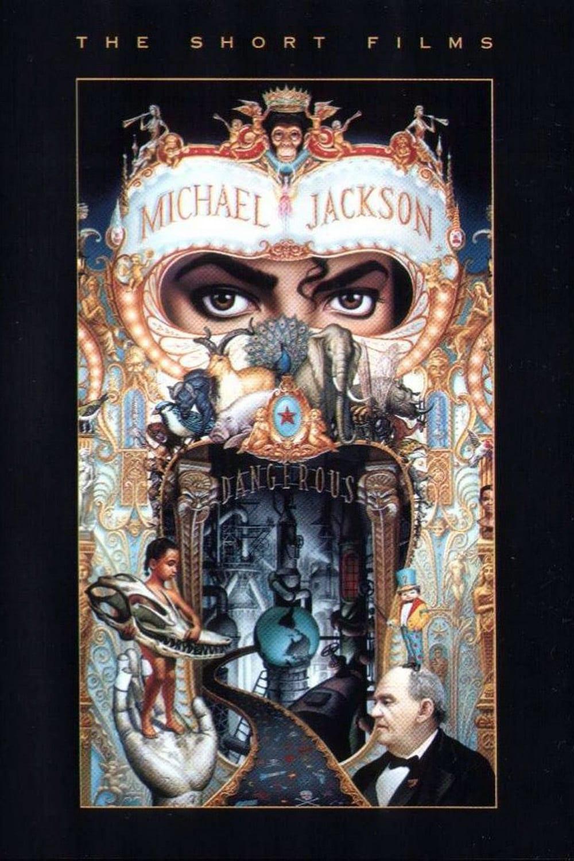 """Plakat von """"Michael Jackson - Dangerous - The Short Films"""""""
