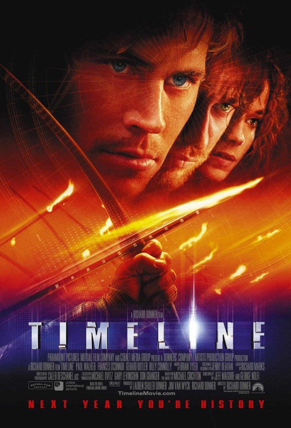"""Plakat von """"Timeline"""""""