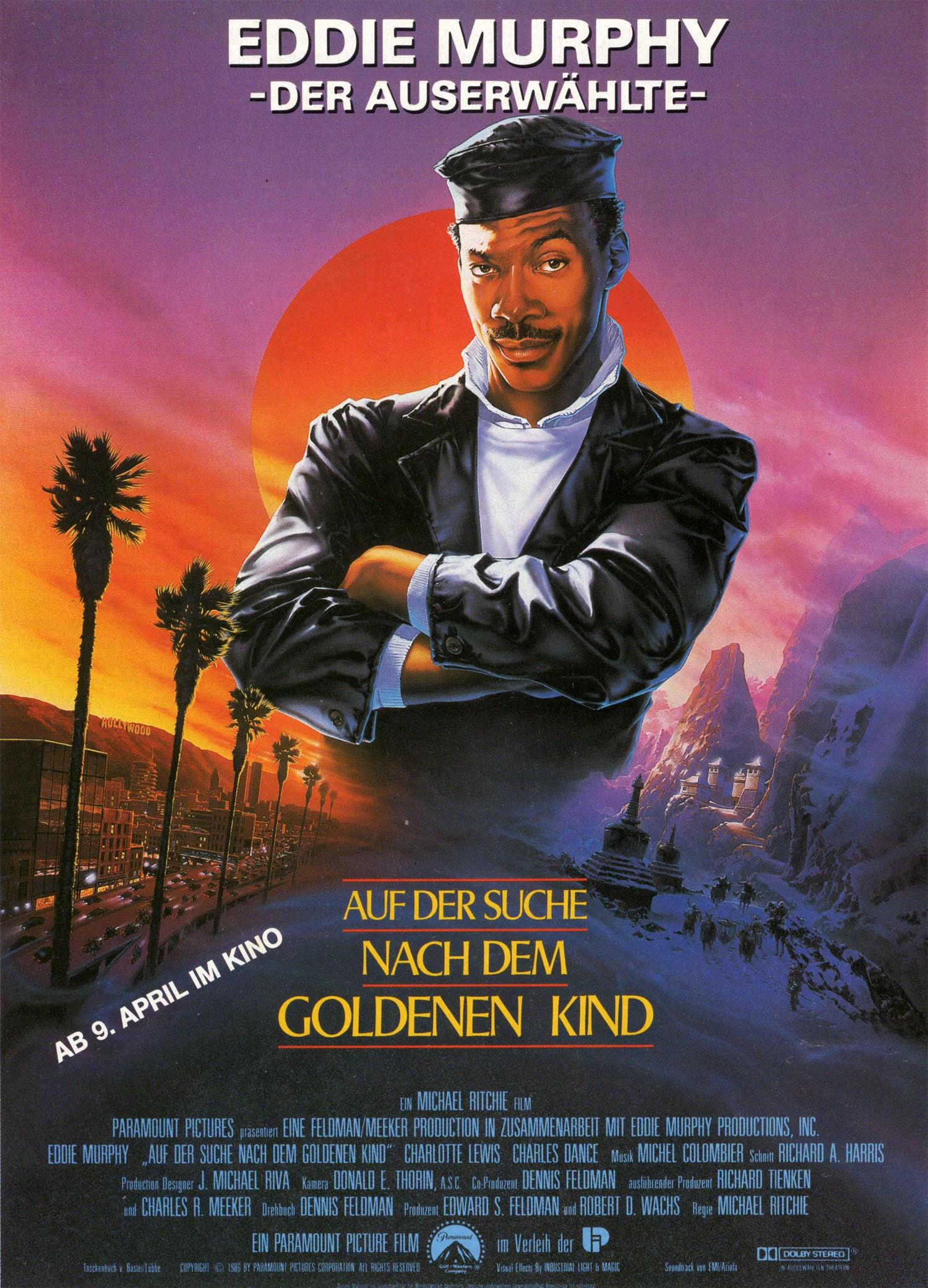 """Plakat von """"Auf der Suche nach dem goldenen Kind"""""""