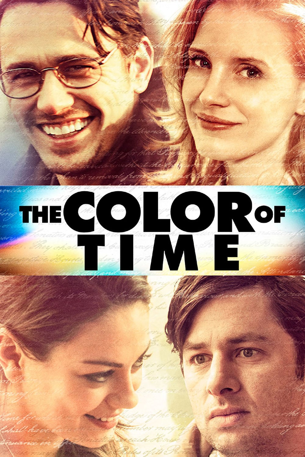 """Plakat von """"The Color of Time"""""""