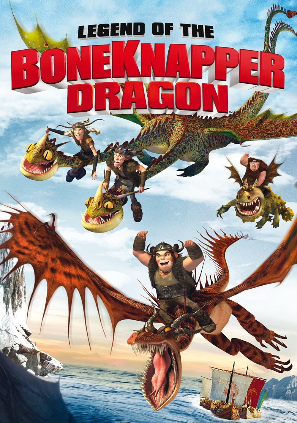 """Plakat von """"Dragons - Die Legende des Knochenräuber"""""""