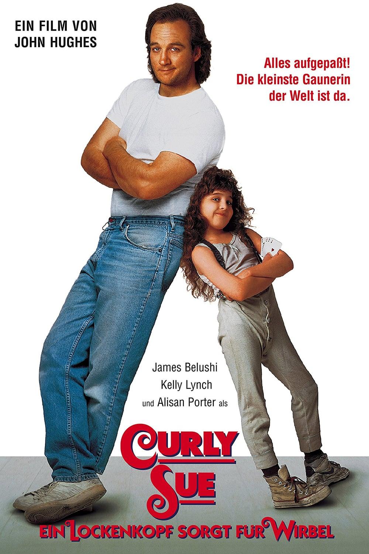 """Plakat von """"Curly Sue - Ein Lockenkopf  sorgt für Wirbel"""""""