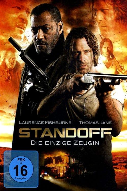 """Plakat von """"Standoff - Die einzige Zeugin"""""""