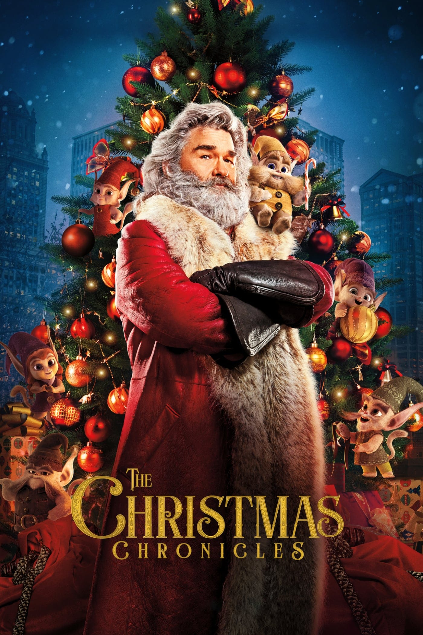"Plakat von ""The Christmas Chronicles"""