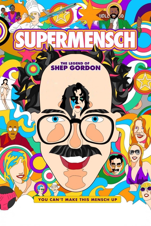 """Plakat von """"Supermensch - Wer ist Shep Gordon?"""""""