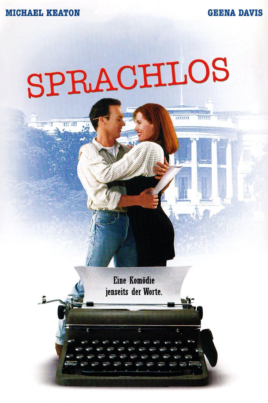 """Plakat von """"Sprachlos"""""""
