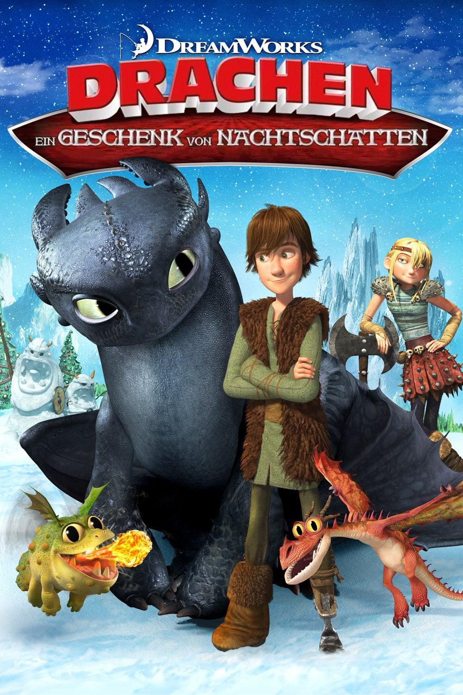 """Plakat von """"Drachen - Ein Geschenk von Nachtschatten"""""""