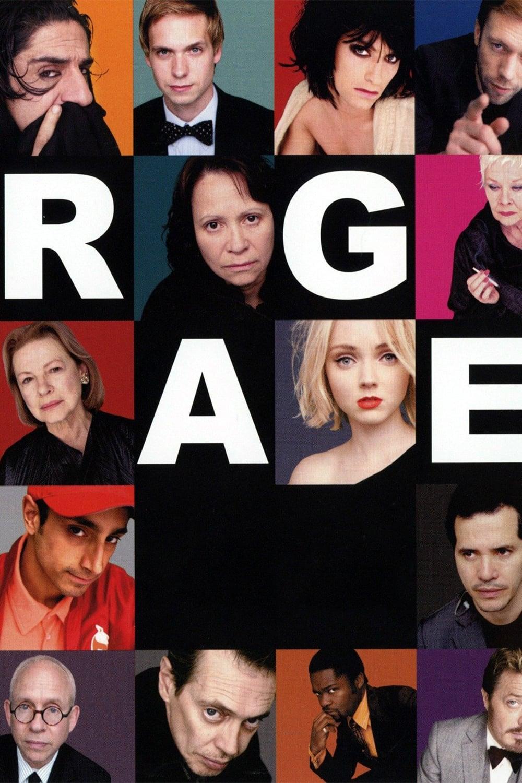 """Plakat von """"Rage"""""""