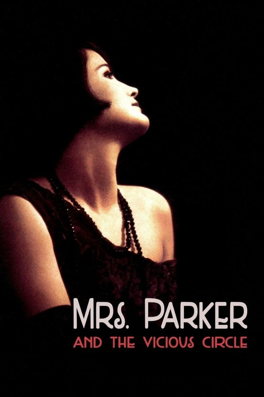 """Plakat von """"Mrs. Parker und ihr lasterhafter Kreis"""""""