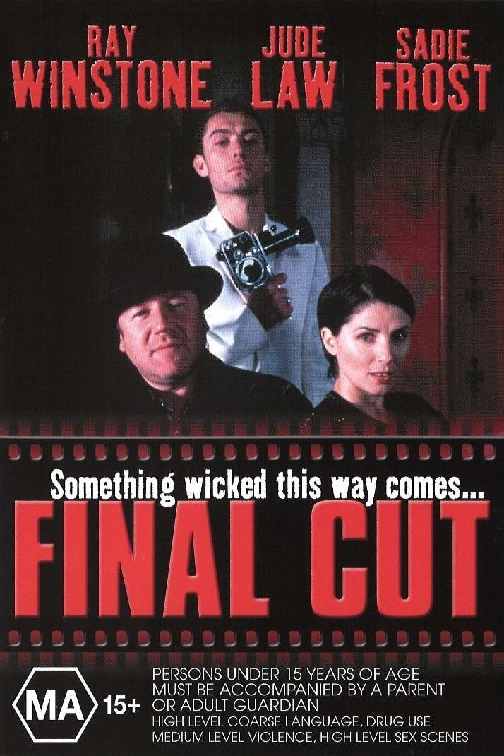 """Plakat von """"Final Cut - Die letzte Abrechnung"""""""