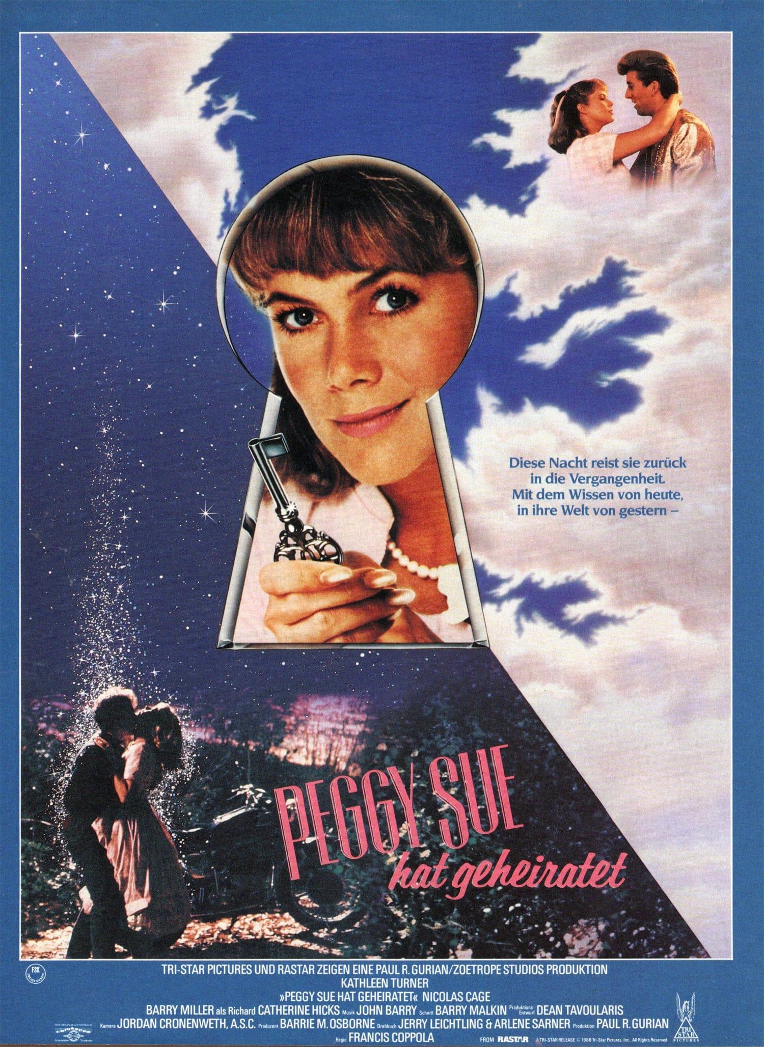 """Plakat von """"Peggy Sue hat geheiratet"""""""