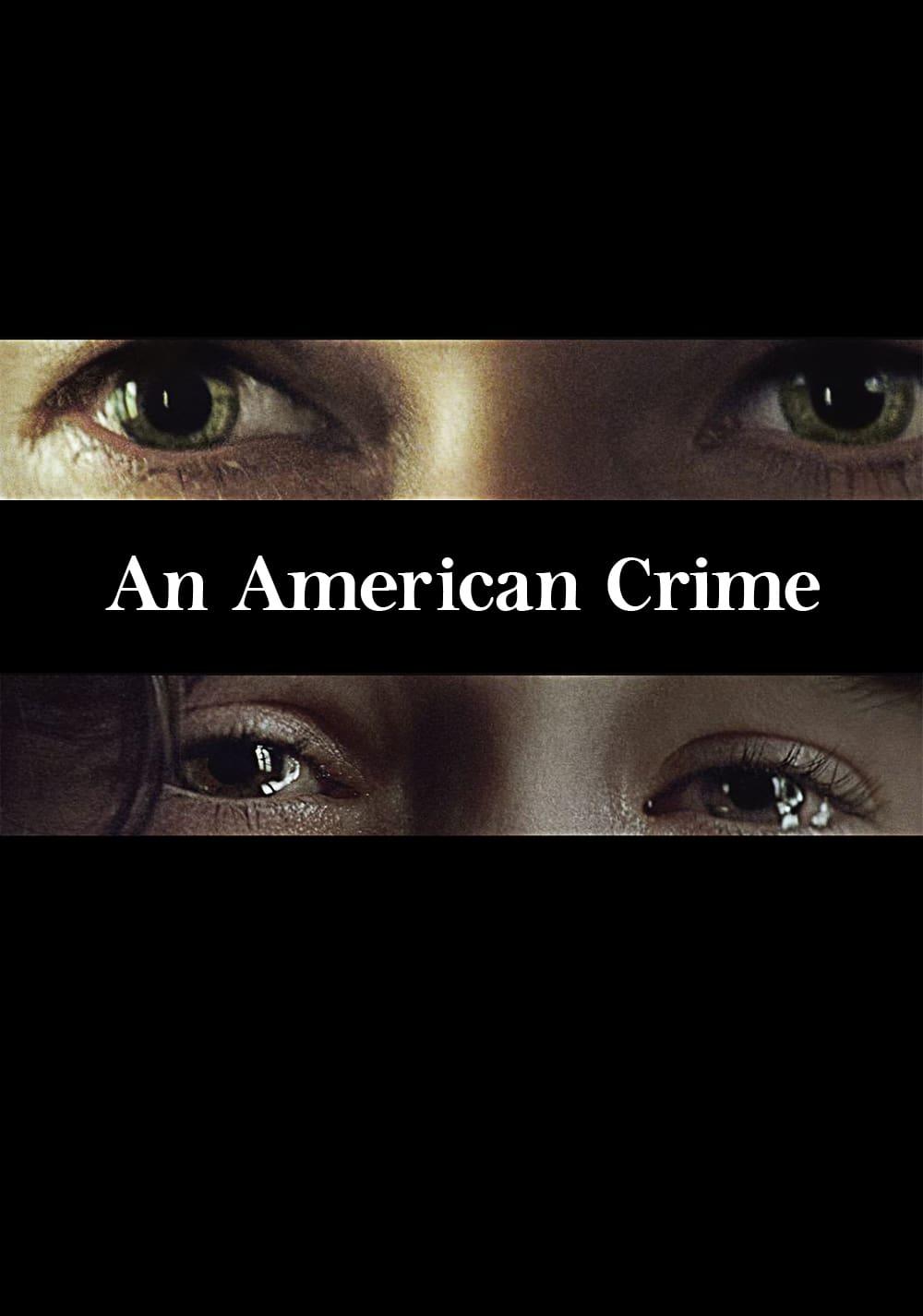 """Plakat von """"An American Crime"""""""