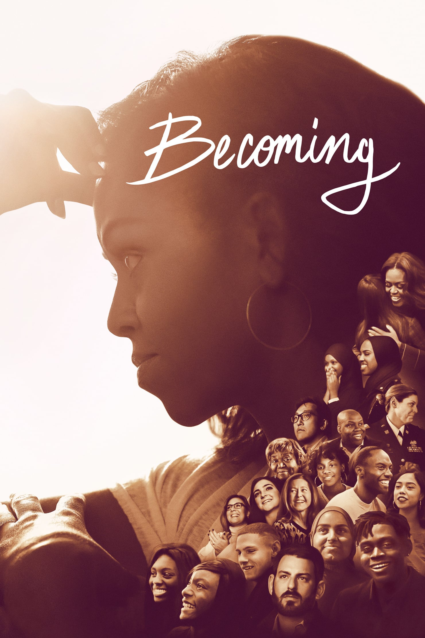 "Plakat von ""Becoming"""