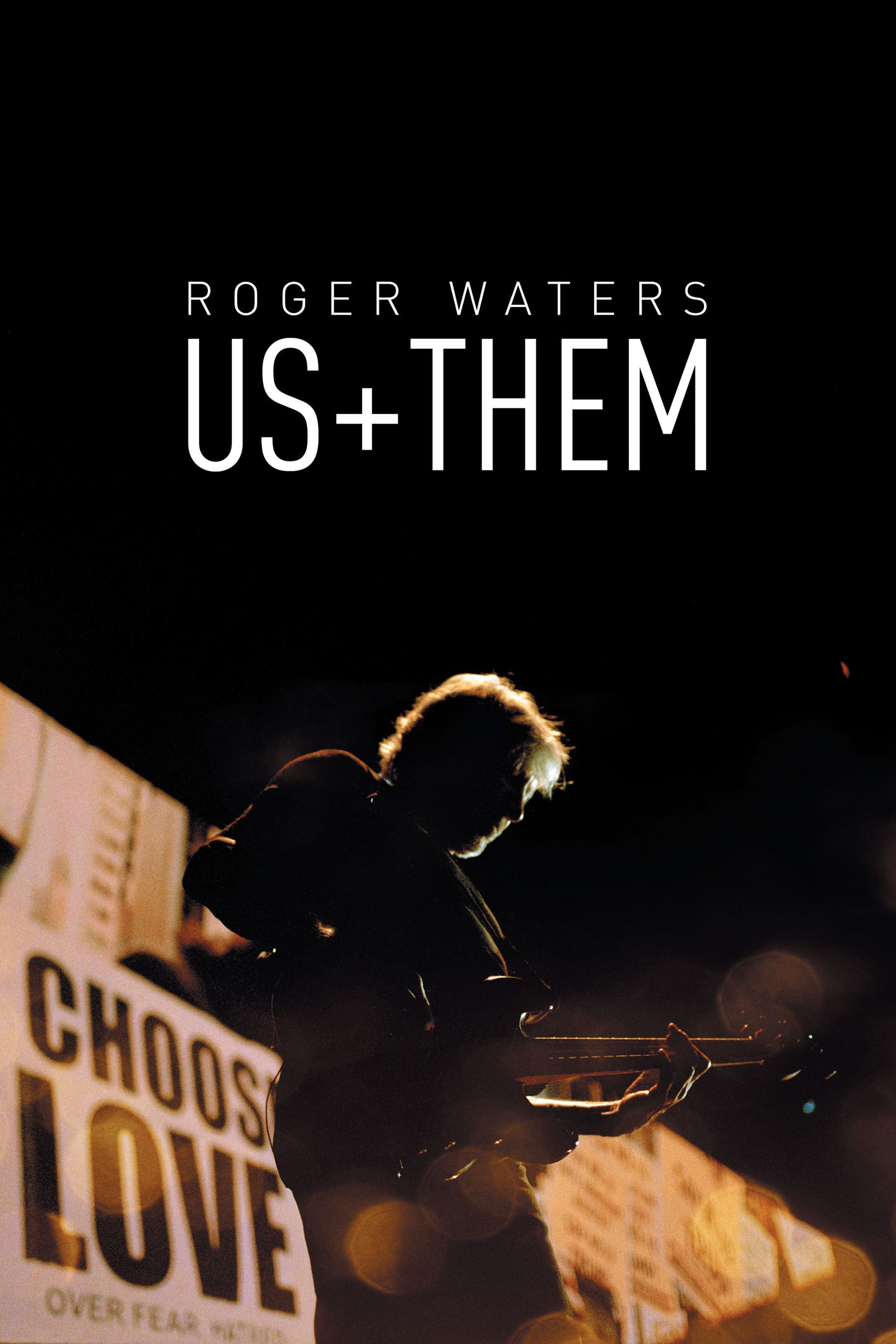 "Plakat von ""Roger Waters: Us + Them"""
