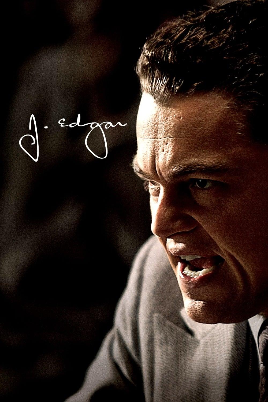 """Plakat von """"J. Edgar"""""""