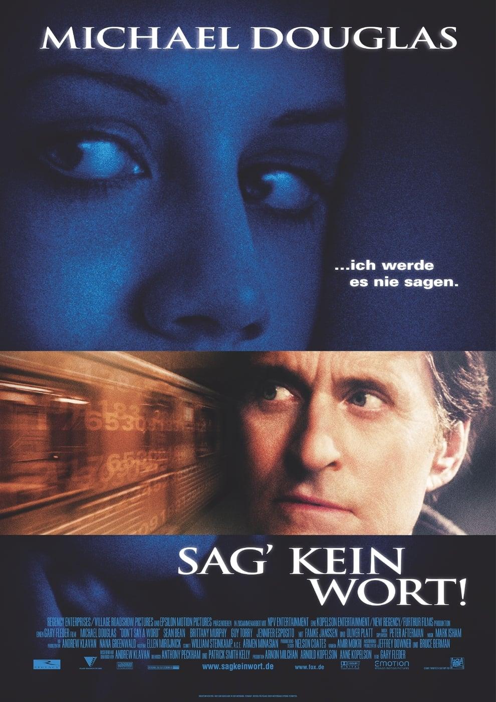 """Plakat von """"Sag' kein Wort!"""""""