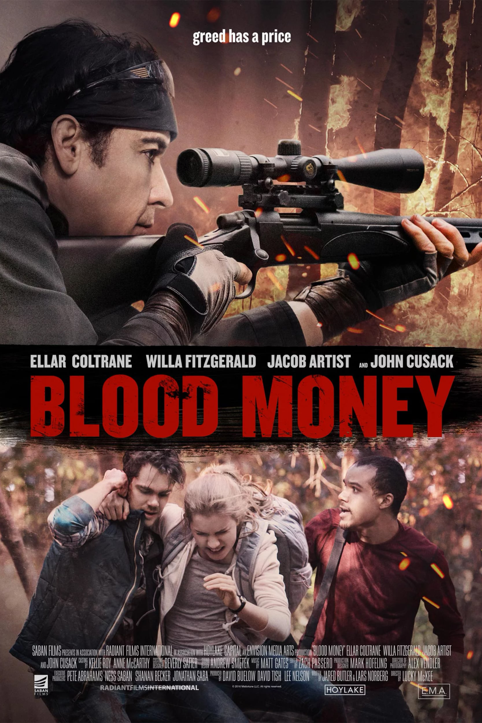 """Plakat von """"Blood Money"""""""