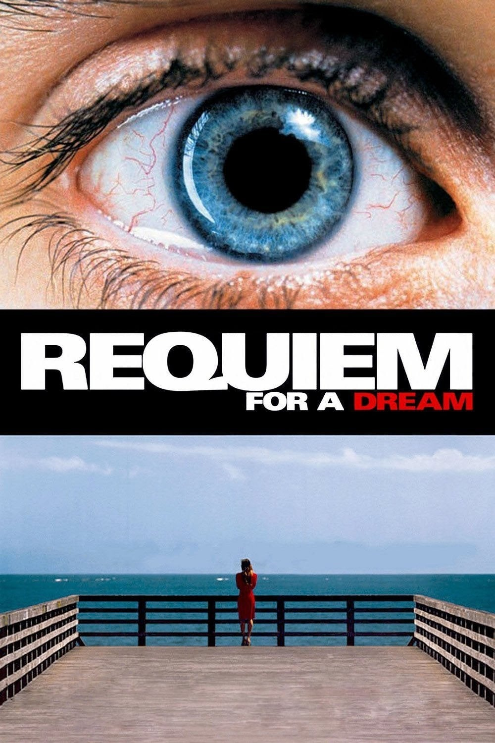 "Plakat von ""Requiem for a Dream"""