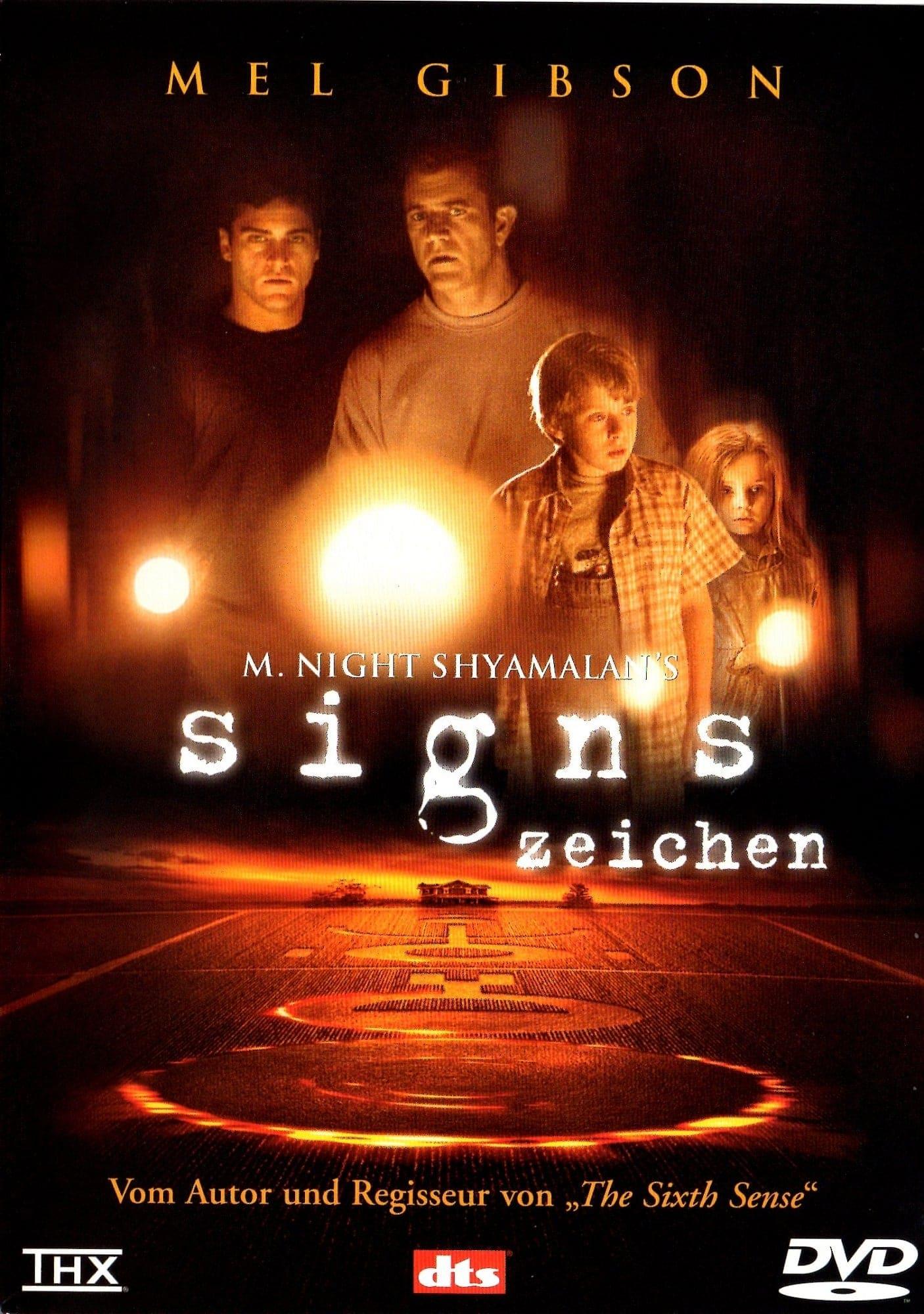 """Plakat von """"Signs - Zeichen"""""""