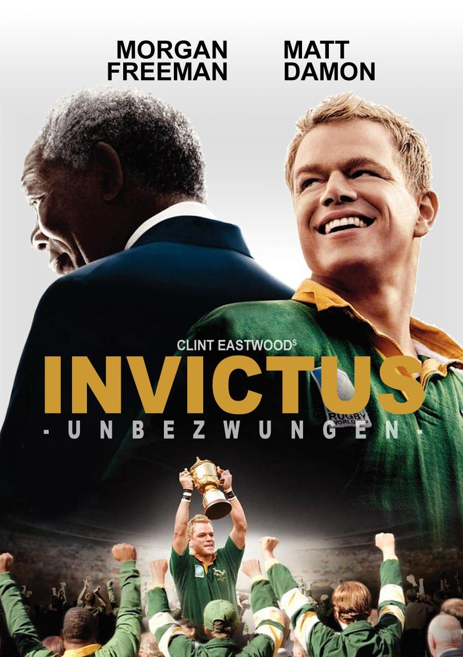 """Plakat von """"Invictus - Unbezwungen"""""""