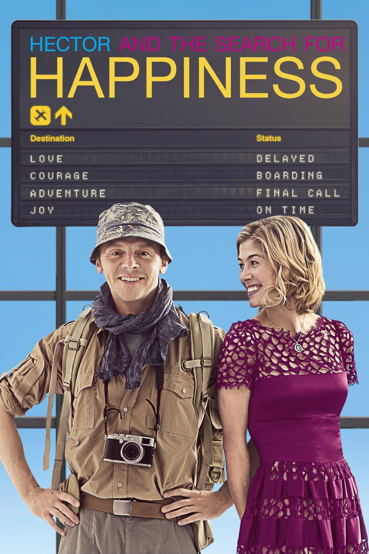 """Plakat von """"Hectors Reise oder die Suche nach dem Glück"""""""