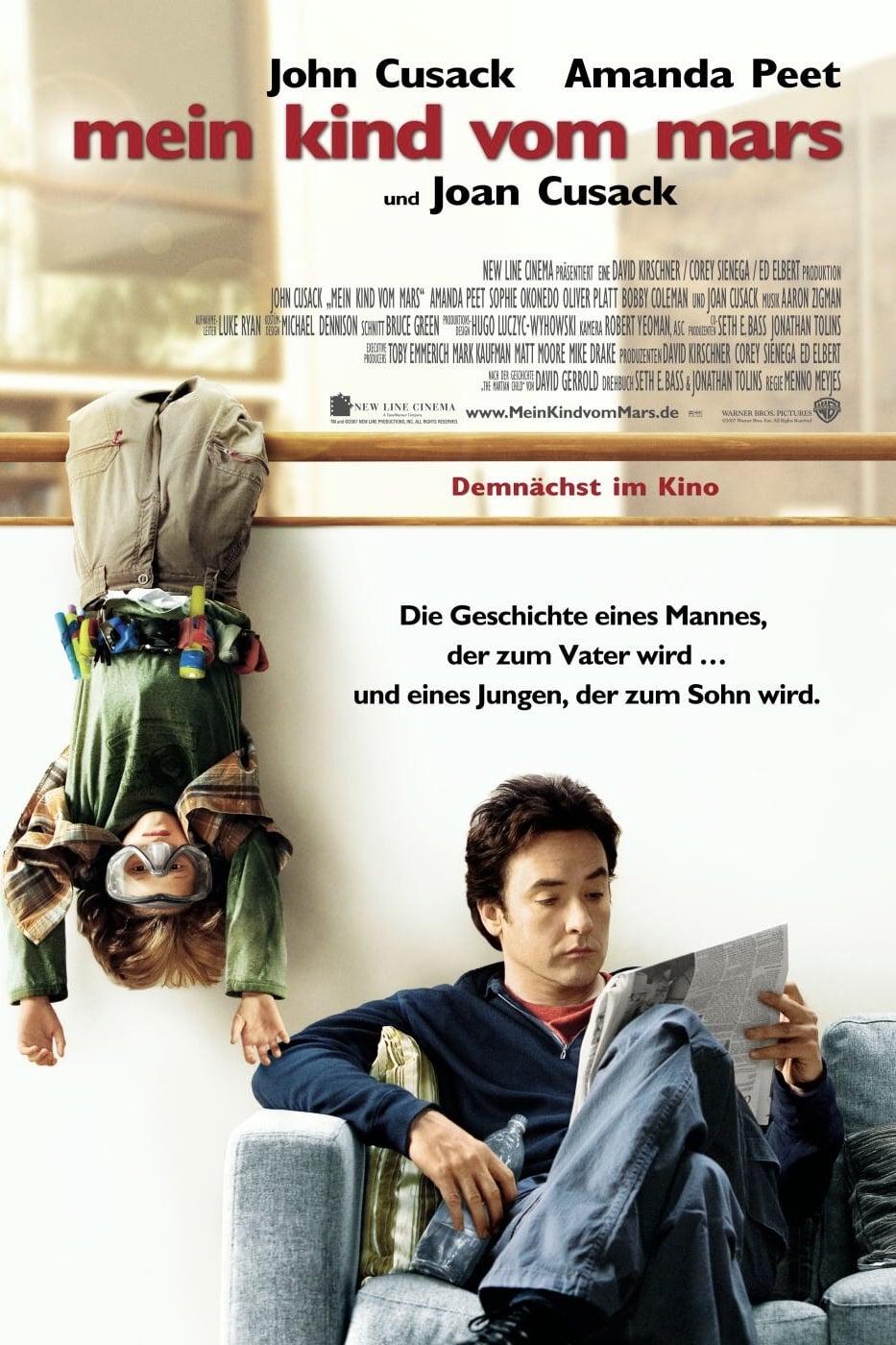 """Plakat von """"Mein Kind vom Mars"""""""