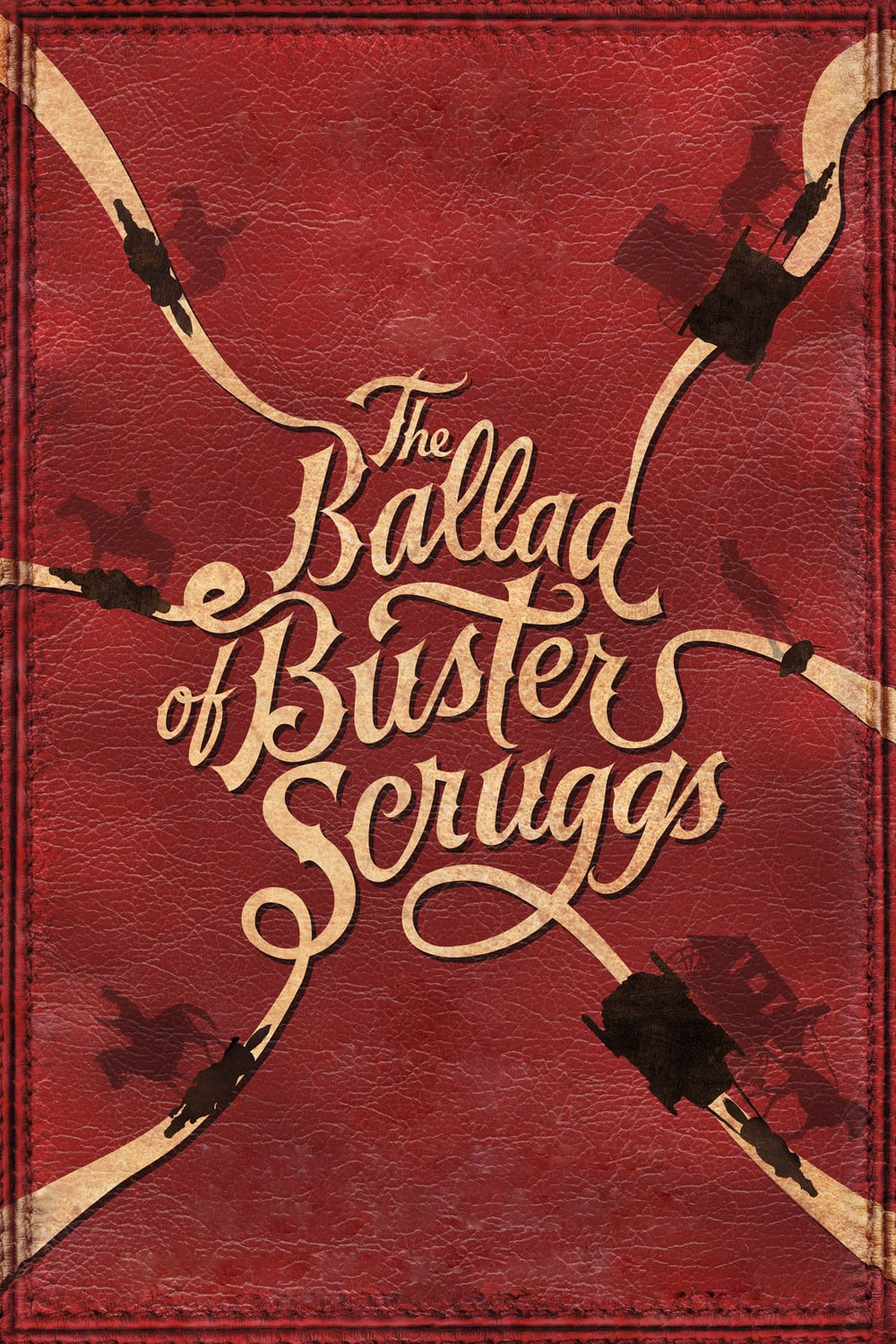 "Plakat von ""The Ballad of Buster Scruggs"""