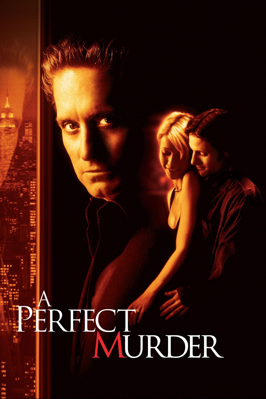 """Plakat von """"Ein perfekter Mord"""""""