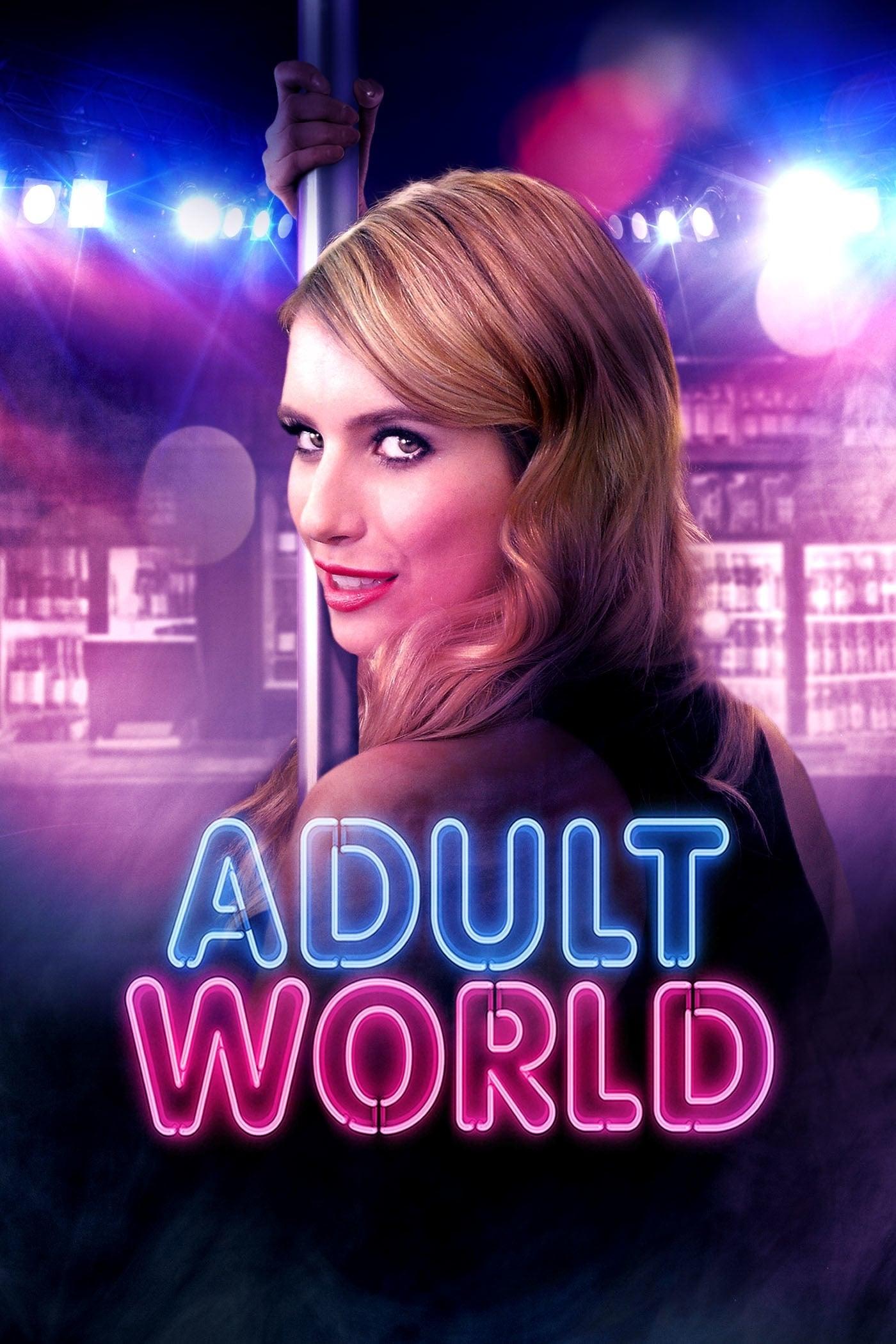 """Plakat von """"Adult World"""""""