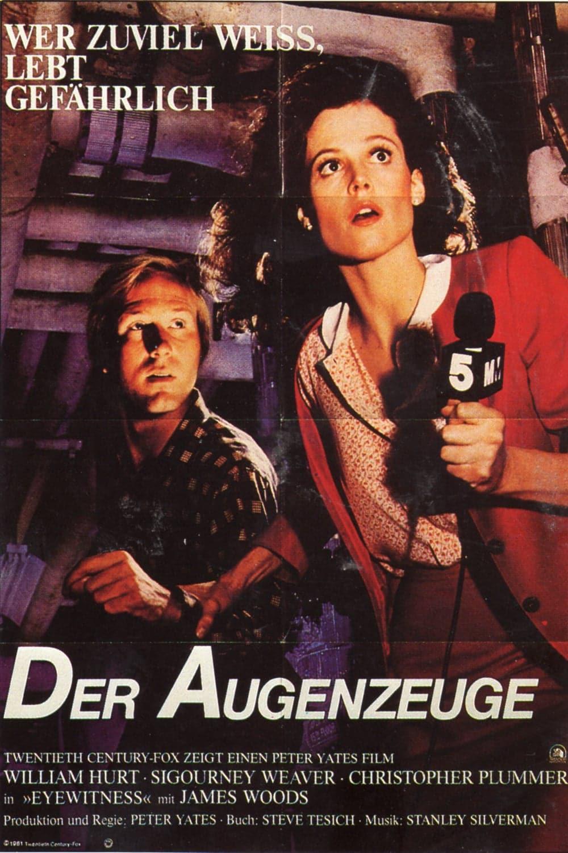 """Plakat von """"Der Augenzeuge"""""""