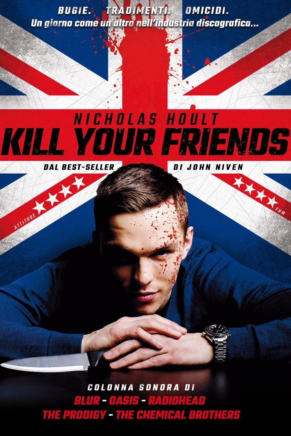 "Plakat von ""Kill Your Friends"""