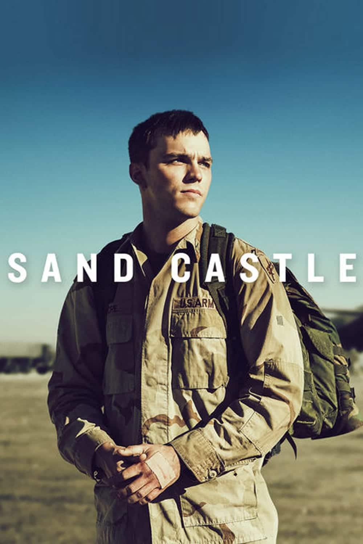 """Plakat von """"Sand Castle"""""""