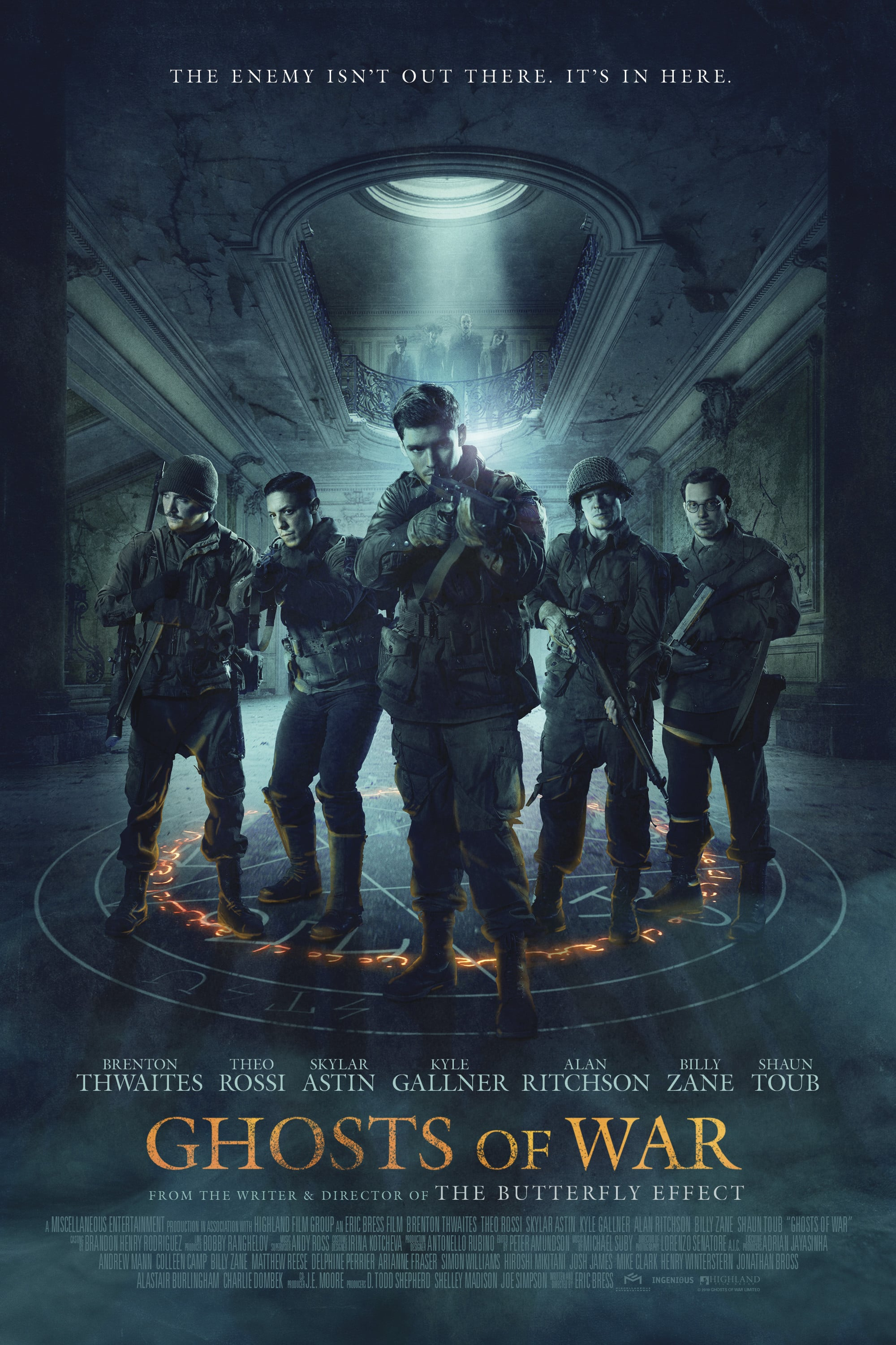 "Plakat von ""Ghosts of War"""