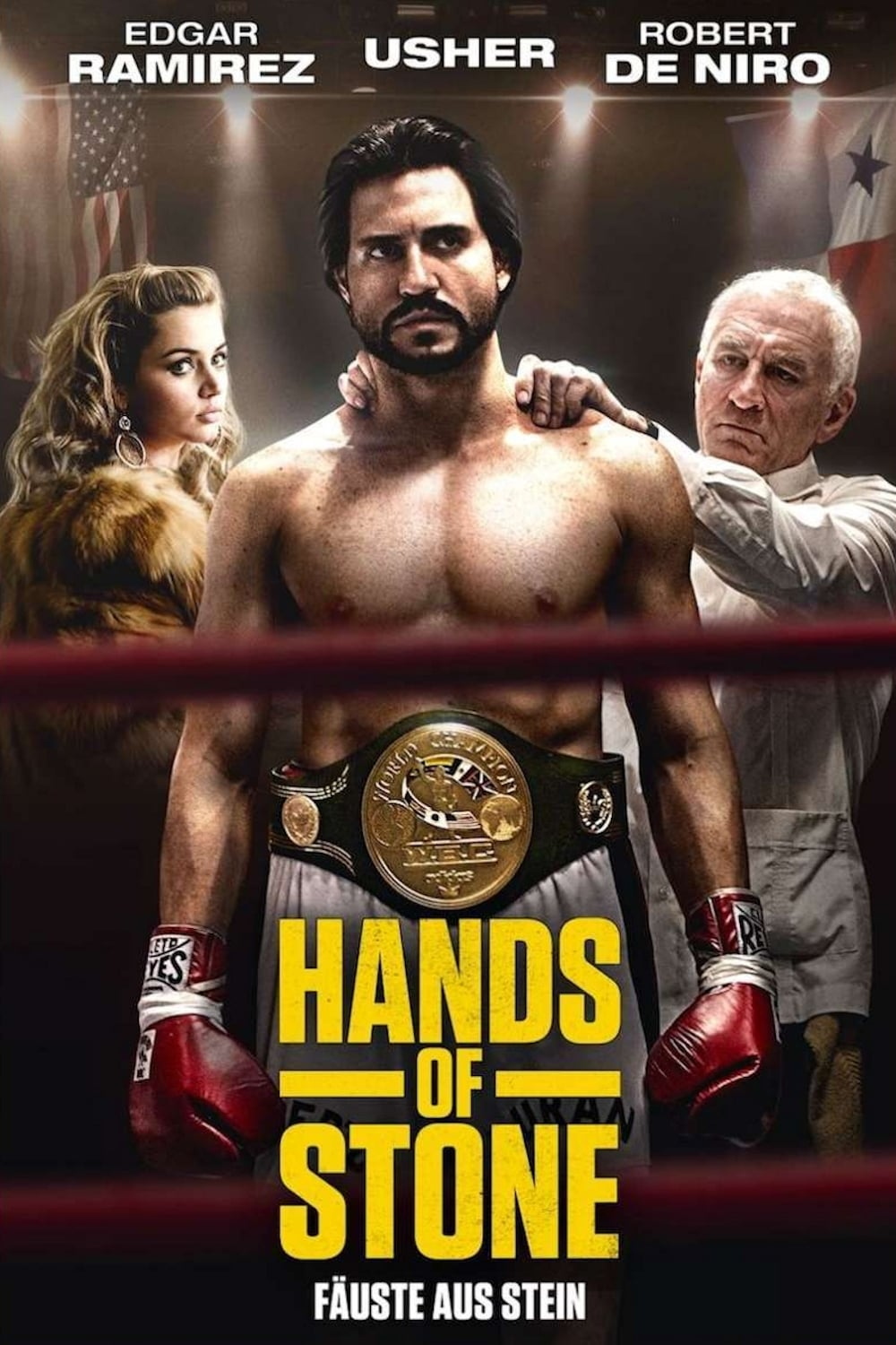"Plakat von ""Hands of Stone"""