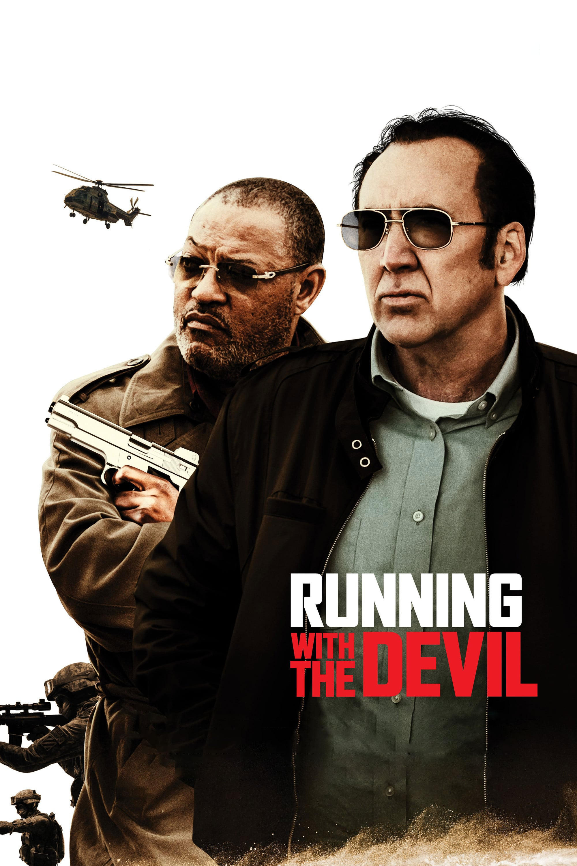 """Plakat von """"Running with the Devil"""""""