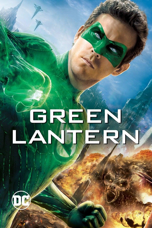 """Plakat von """"Green Lantern"""""""